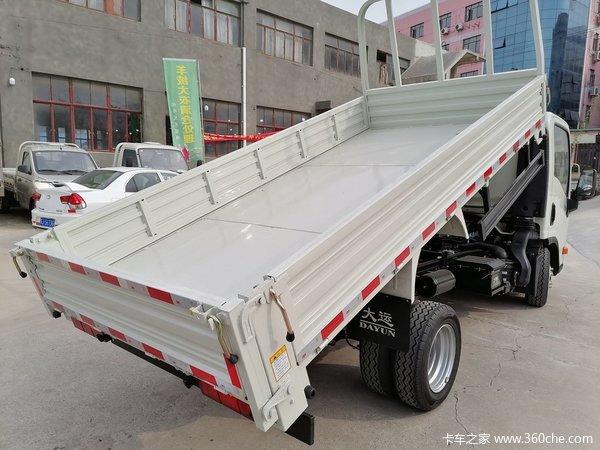可下地下室上海大运轻卡自卸直降3千