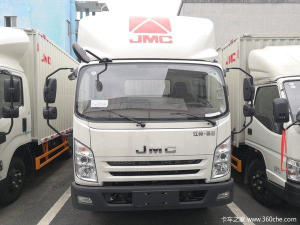 新车到店杭州凯运蓝鲸载货仅售12.83万