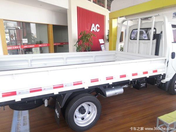 回馈用户杭州康铃X5载货车钜惠0.3万元