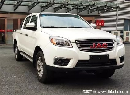 新车到店赣州帅铃T6皮卡仅售9.98万元