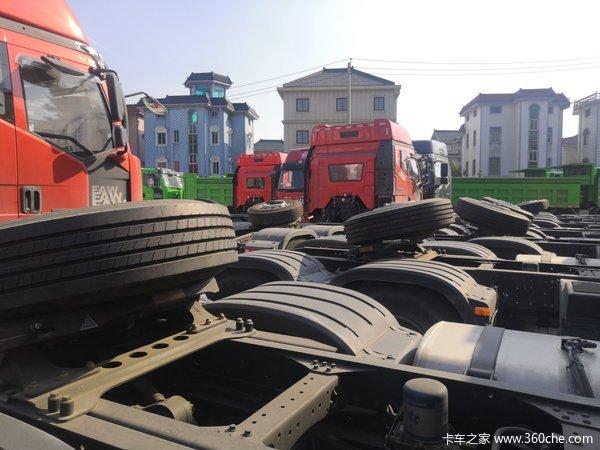 仅售33.3万元杭州解放J6P牵引车促销中