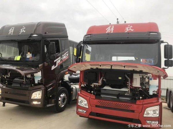 新车优惠沧州解放JH6牵引车仅售29.5万