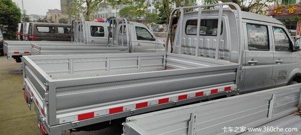 新车到店金华金杯T52载货车仅售5.58万