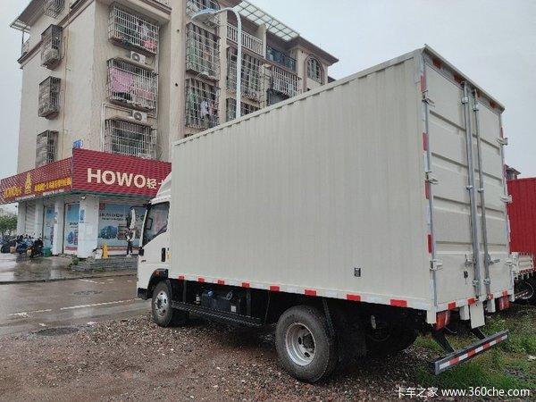 新车优惠金华悍将载货车仅售10.98万元
