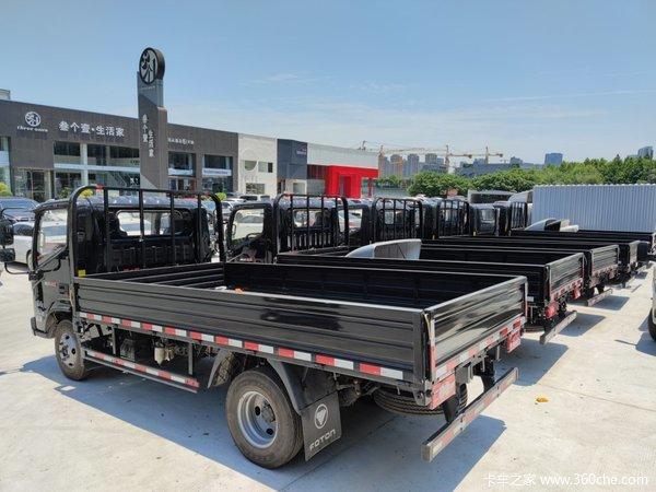 新车到店绍兴奥铃速运载货车仅售10.7万