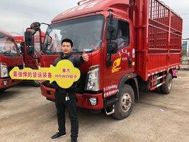 2台统帅载货车,得到饲料公司的认可和选择