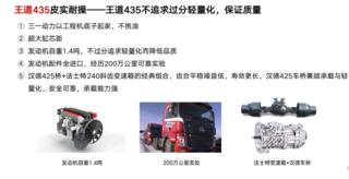 三一厂家联合经销商开展三一重卡435王道上市抢购会