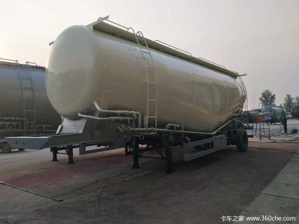 35-45立方轻量化散装水泥罐车粉粒物料运输半挂车图片