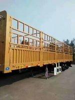 山东梁山交通设备有限公司13米花栏直销仓栅式半挂车图片