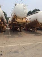 轻体高强粉粒物料运输半挂粉粒物料运输半挂车图片