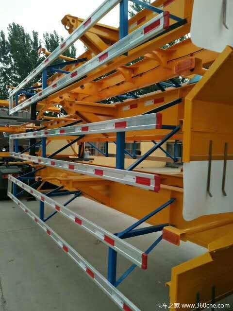 梁山瑞丰骨架式集装箱半挂车骨架式集装箱半挂车图片