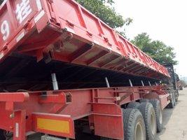 13米2.55米自卸侧翻拉钢材专用自卸半挂车