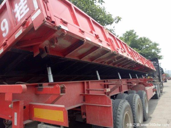 13米2.55米自卸侧翻拉钢材专用自卸半挂车图片