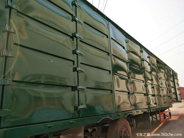 十六米骨架集装箱车集装箱式半挂车图片