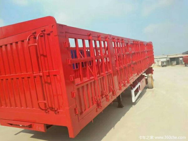 重型花篮自卸车自卸半挂车图片