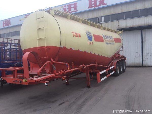 55方罐粉粒物料运输半挂车图片
