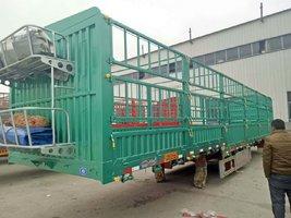 13米花篮,整车5.7吨!轻量化设计,标载首选仓栅式半挂车