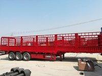 轻量化13米仓栏车,自重5.9吨,包拉60吨仓栅式半挂车图片