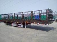 辽宁金天马13米高栏9.5米高栏仓栅式半挂车图片