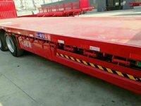 13.75长3米宽,可做抽拉,整车高强钢!平板式半挂车图片
