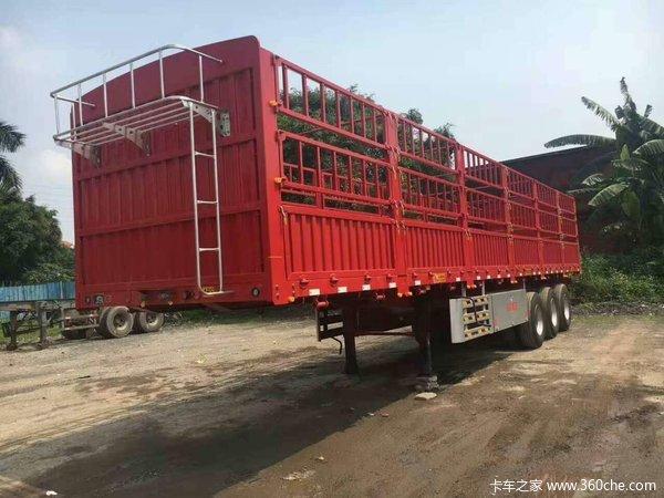 高栏,超轻体,上海宝钢980,好钢材好产品。仓栅式半挂车图片