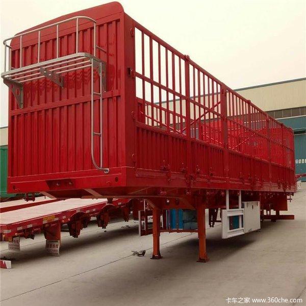 9-13米轻型仓栅半挂车仓栅式半挂车图片