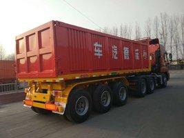 〈自卸车专家〉公告企业,轻量化设计,砂石料运输利器自卸半挂车