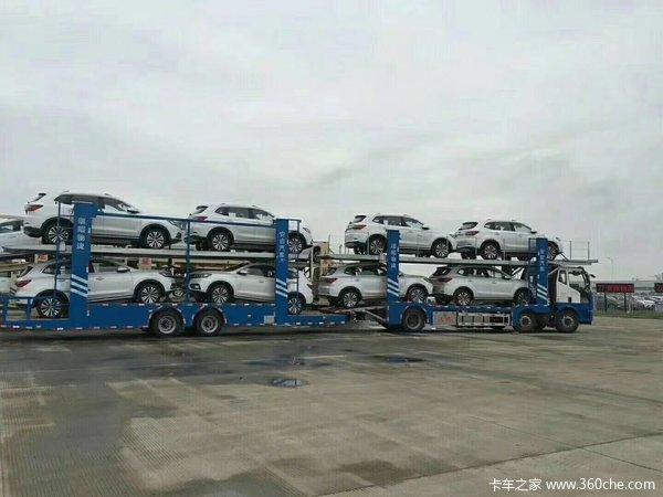 〈车辆运输专家〉中置轴车辆运输车轿运车图片