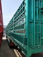 13米重型拉粮车仓栅式半挂车