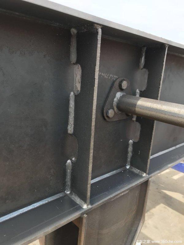 超轻宝钢13米仓柵式半挂车仓栅式半挂车图片