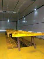 12.95米13.95米14.95米16米骨架高箱车骨架式集装箱半挂车图片