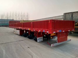 13000/2550/60标箱自卸车自卸半挂车