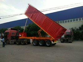 自卸车,只做安全可靠的产品。按照需求,合理设计生产自卸半挂车