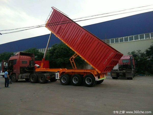 自卸车,只做安全可靠的产品。按照需求,合理设计生产自卸半挂车图片