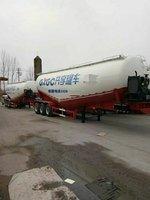 国家专利,下出灰水泥罐车粉粒物料运输半挂车图片