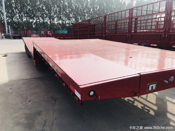 17.5米大板替代车型13.75×3米低平板低平板半挂车图片