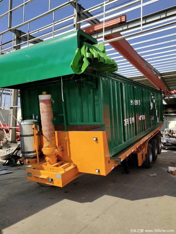 2018款轻型后翻半挂车专业制造各种系列自卸半挂车自卸半挂车图片