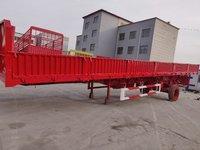 13米×2.55×0.6米标准侧翻整车6.5吨保拉60吨,可做加高栏自卸半挂车图片