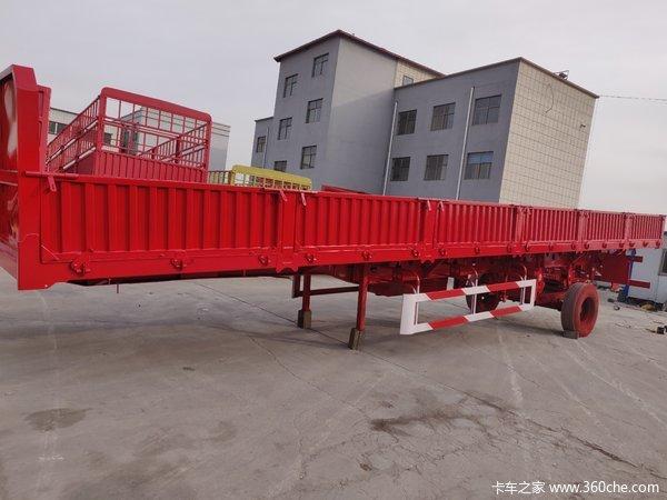 13米×2.55×0.6米标准侧翻整车7吨保拉60吨,可做加高栏自卸半挂车图片