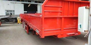 13米60公分自卸车自重6.7吨包拉60自卸半挂车