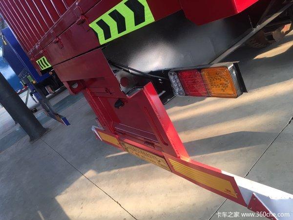 13米标准侧翻半挂车自卸半挂车图片