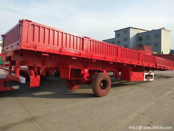 13×2.55×0.6米侧翻整车自重6.5吨可卧可加高自卸半挂车图片