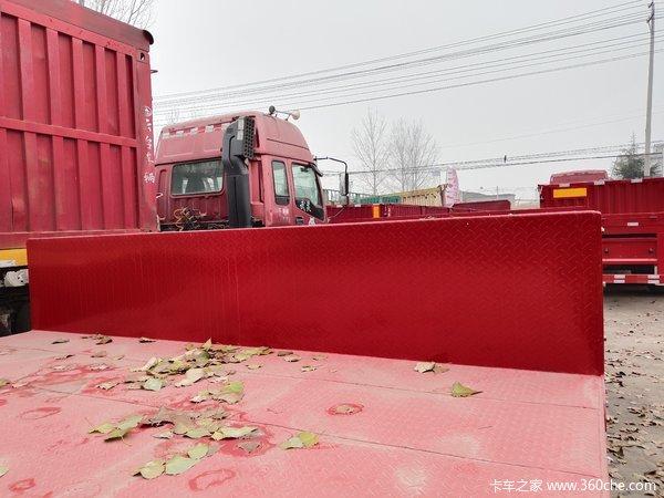 13.75米低平板,前后等宽,原车原户,可分开购低平板半挂车图片