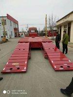 9-13.75米低平板半挂车,专业制造二十年低平板半挂车图片