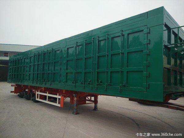 箱式运输半挂车厢式半挂车图片
