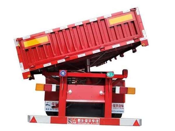 轻量化自卸半挂车厂家供应,自重轻,工艺精良自卸半挂车图片