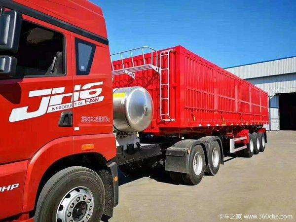 量身打造,为客户制造专业运输装备!!!自卸半挂车图片