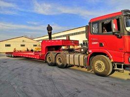 工程机械.大件设备运输车轴线挂车