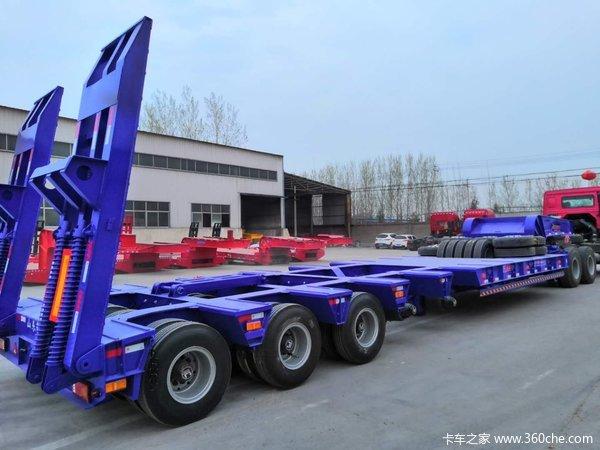 工程机械.大件设备运输车轴线挂车图片