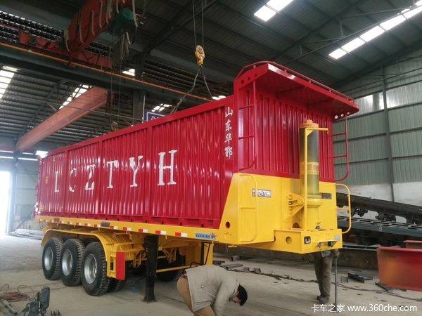 满足各个自卸车客户,制造各个客户实用自卸车自卸半挂车图片